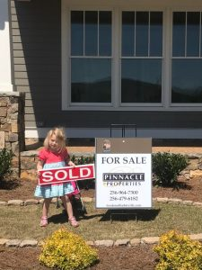 Janie Sold Sign